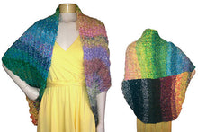 Load image into Gallery viewer, 4 Seasons 3 Ways Scarf/Jacket Downloadable PDF Knitting Pattern