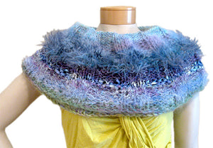 Loop Scarf/Capelet Downloadable PDF Knitting Pattern