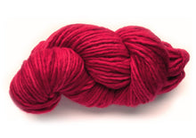 Load image into Gallery viewer, Hand-painted bulky-weight Australian Merino Wool yarn in Cardinal