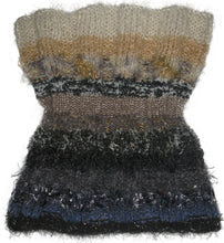 Load image into Gallery viewer, Reversible Capelet Hand-knitted Sample in Neutral Territory