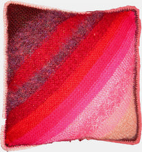 Load image into Gallery viewer, Entrelac Pillow Downloadable PDF Knitting Pattern