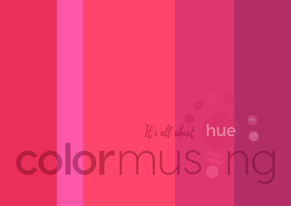 Coral Sea Color Palette: Downloadable Editable PSD/JPEG Files