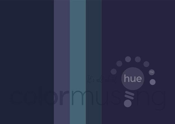 Amethyst Overboard Color Palette: Downloadable Editable PSD/JPEG Files
