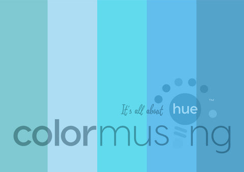 Aquamarine Color Palette: Downloadable Editable PSD/JPEG Files