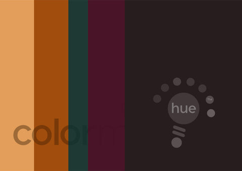 Autumn Color Palette: Downloadable Editable PSD/JPEG Files