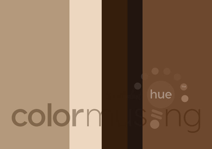 Bark Color Palette: Downloadable Editable PSD/JPEG Files
