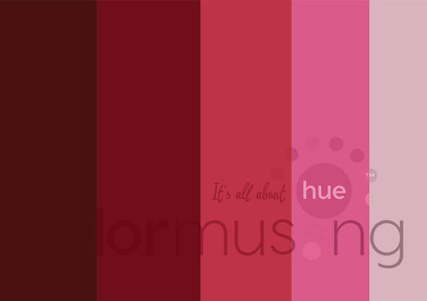 Be My Valentine Color Palette: Downloadable Editable PSD/JPEG Files