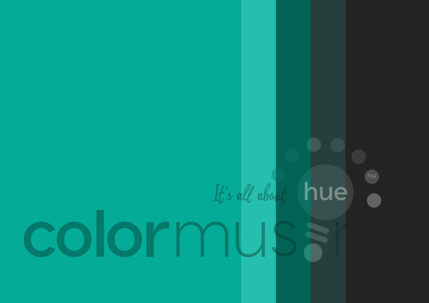 Black Jade Color Palette: Downloadable Editable PSD/JPEG Files