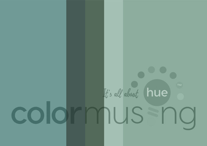 Blue Sage Color Palette: Downloadable Editable PSD/JPEG Files