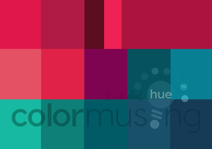Blue Christmas Curated Color Palettes Collection, instant-download set of 3 palettes, editable PSD/JPEG files