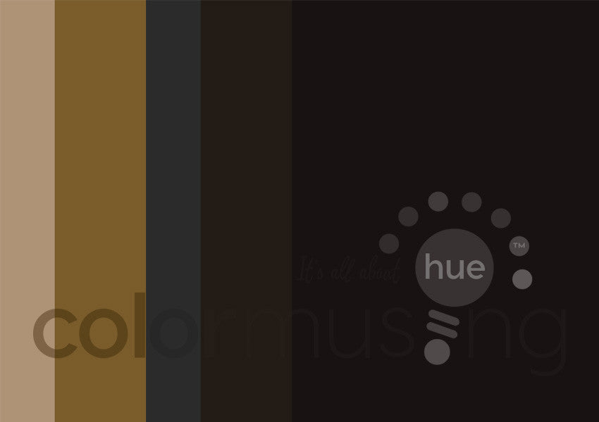 Bronze Age Color Palette: Downloadable Editable PSD/JPEG Files