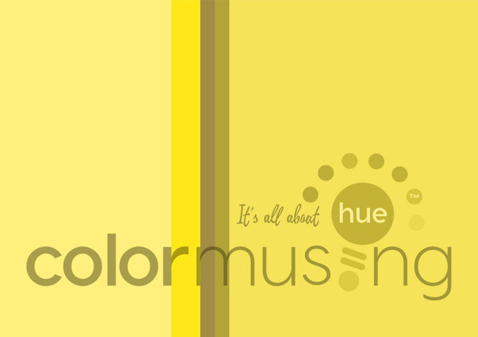 Canary Diamond Color Palette: Downloadable Editable PSD/JPEG Files