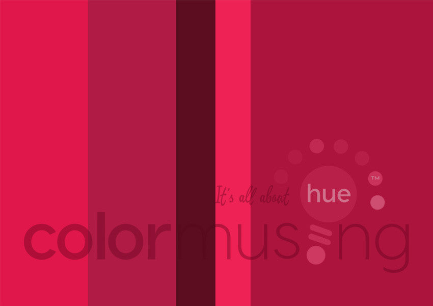 Cardinal Color Palette: Downloadable Editable PSD/JPEG Files