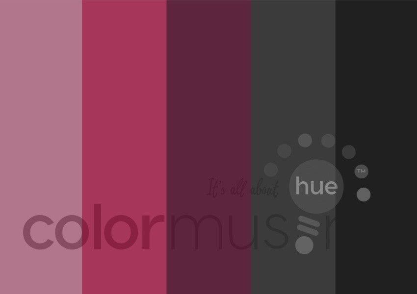 Color Black White Color Palette: Downloadable Editable PSD/JPEG Files