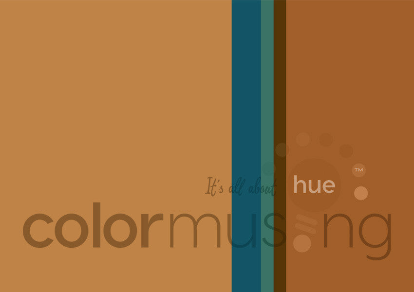Deep Topaz Color Palette: Downloadable Editable PSD/JPEG Files