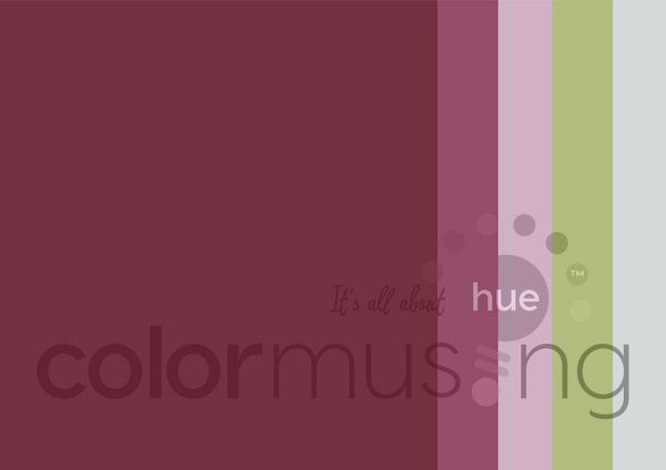 Folia Varia Color Palette: Downloadable Editable PSD/JPEG Files