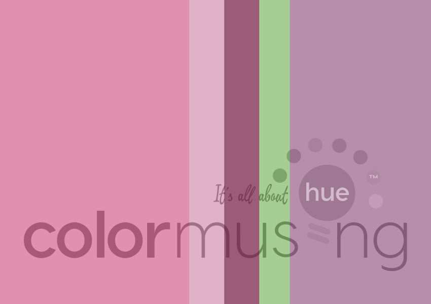 Garden Party Color Palette: Downloadable Editable PSD/JPEG Files