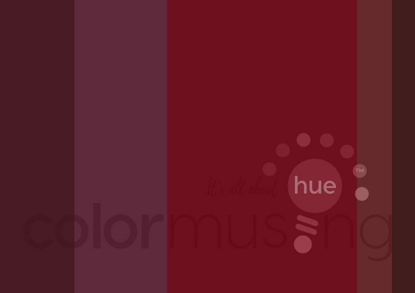 Garnet Color Palette: Downloadable Editable PSD/JPEG Files
