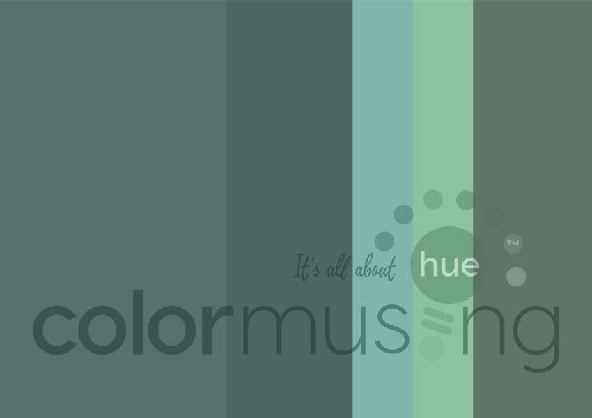 Jade Color Palette: Downloadable Editable PSD/JPEG Files