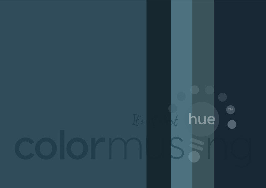Marine Color Palette: Downloadable Editable PSD/JPEG Files