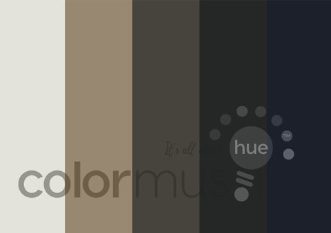 Neutral Territory Color Palette: Downloadable Editable PSD/JPEG Files