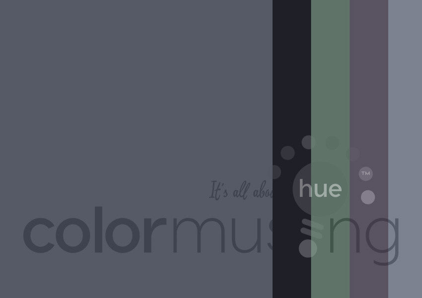 Overcast Color Palette: Downloadable Editable PSD/JPEG Files