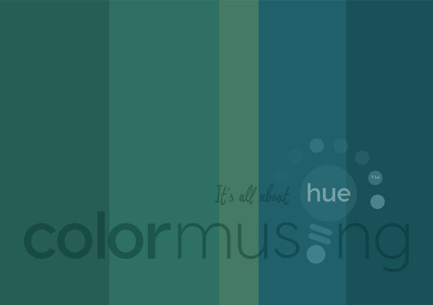 Pacifica Color Palette: Downloadable Editable PSD/JPEG Files