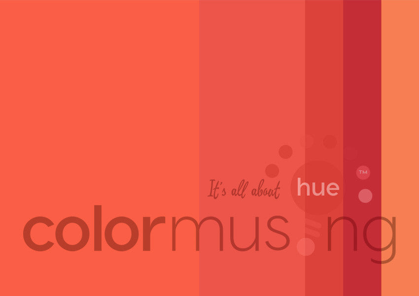 Red Flamingo Color Palette: Downloadable Editable PSD/JPEG Files