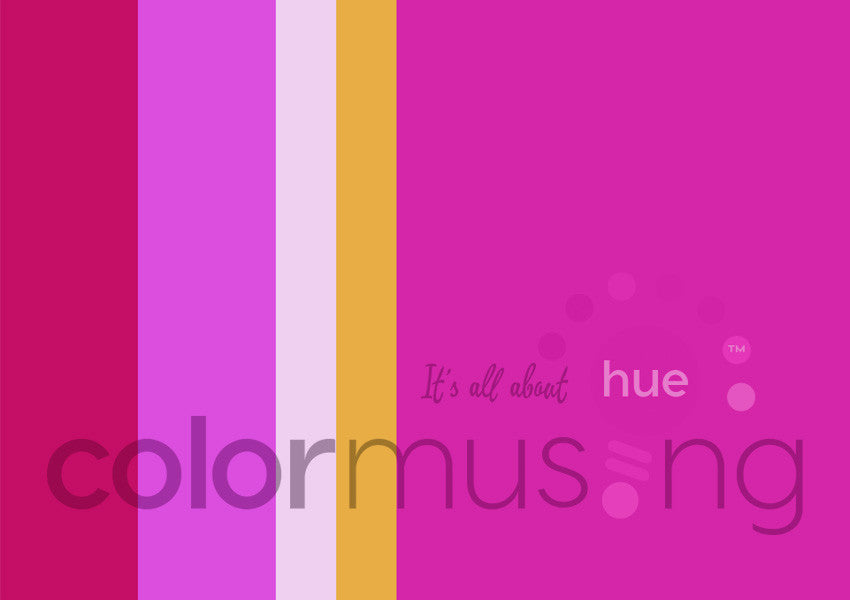 Rosy Glow Color Palette: Downloadable Editable PSD/JPEG Files