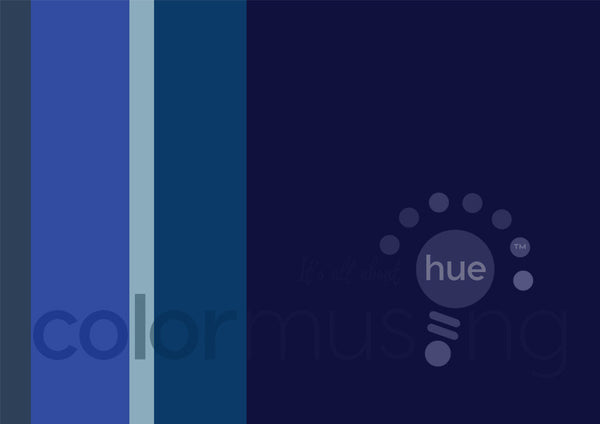 Sapphire Color Palette: Downloadable Editable PSD/JPEG Files