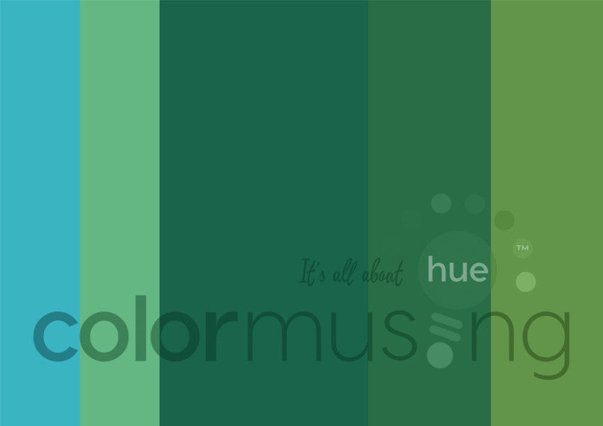 Summer Color Palette: Downloadable Editable PSD/JPEG Files