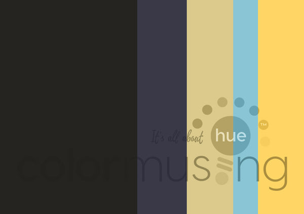 Sunbreaks Color Palette: Downloadable Editable PSD/JPEG Files
