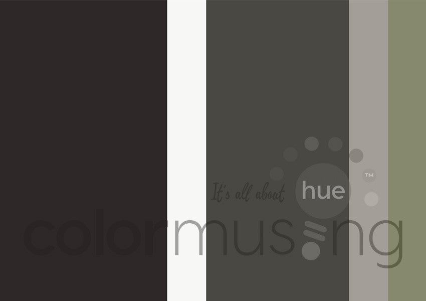 Winter Color Palette: Downloadable Editable PSD/JPEG Files