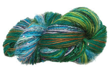 Load image into Gallery viewer, Scraplet Skeins multi-textured hand-tied yarn in Summer
