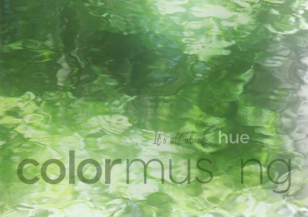 Green Reflection Color Palette: Downloadable Editable PSD/JPEG Files