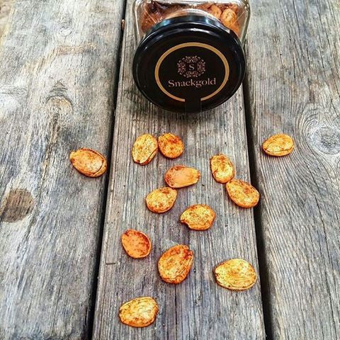 Snackgold Marcona Almonds with Hot paprika
