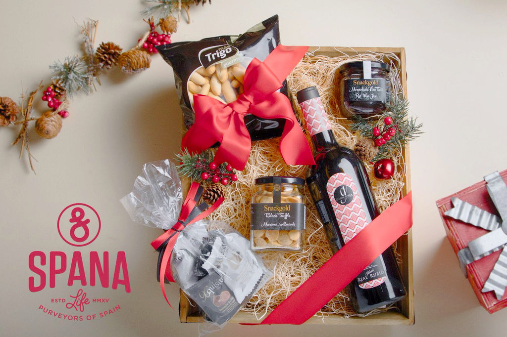 Holiday Gift Basket Red