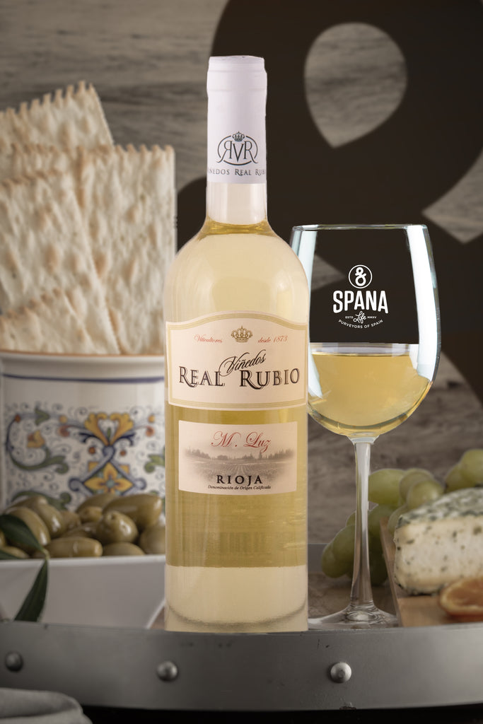 Bodegas Real Rubio Blanco M. Luz 2015 750ml