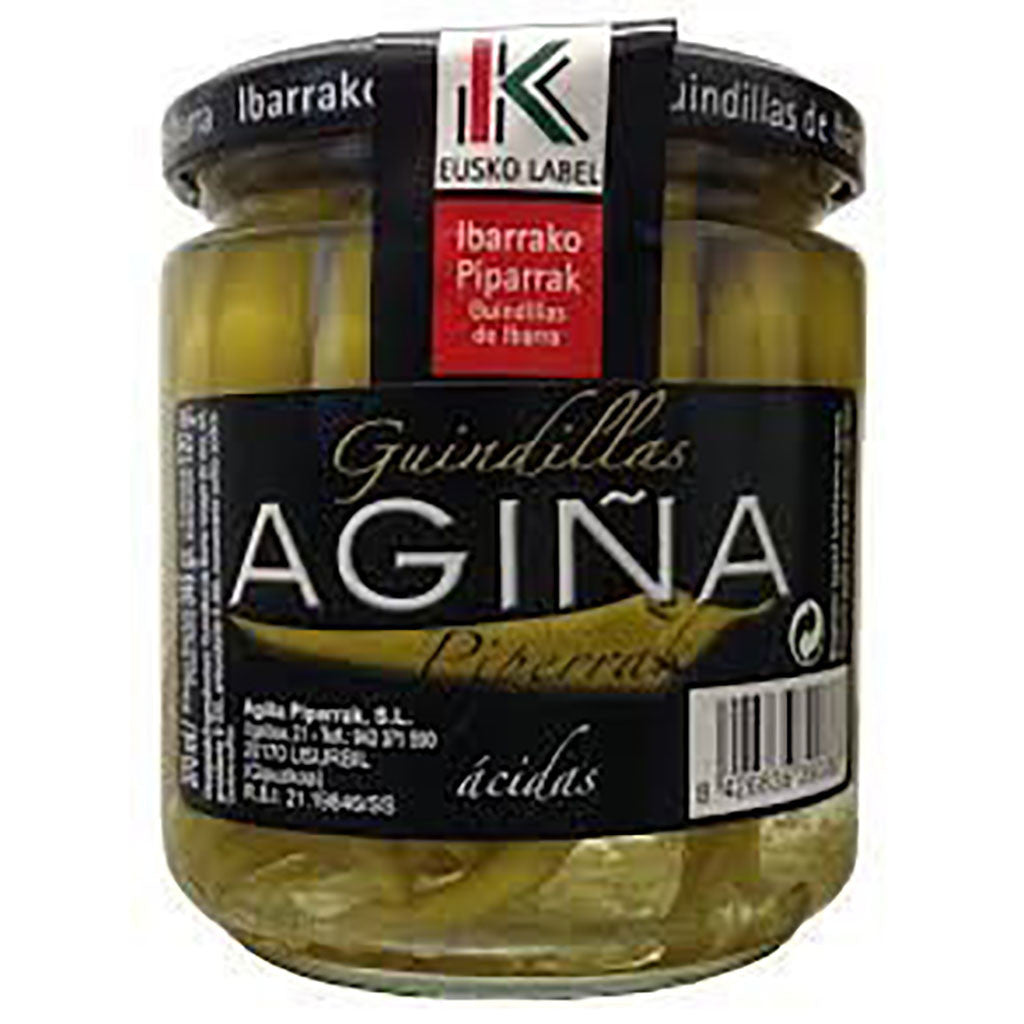 Basque Agiña peppers