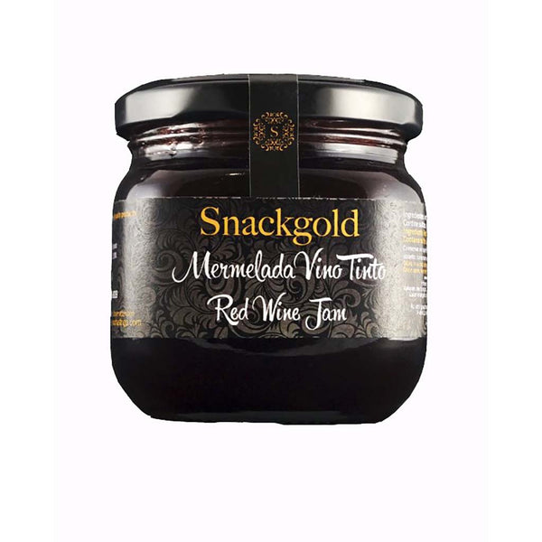 Snackgold Red Wine Jam 210gm.