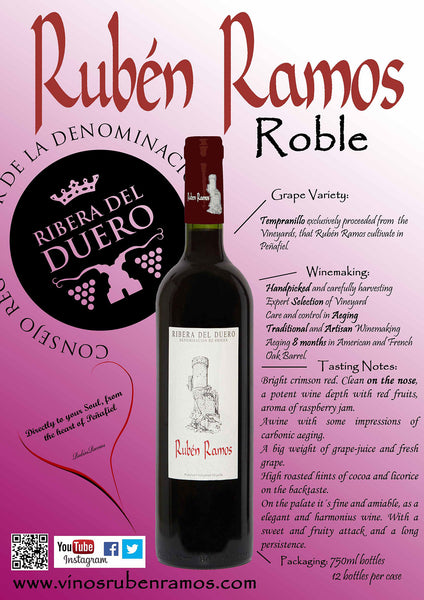 Ruben Ramos Roble 2014 750ml