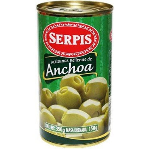 Serpis Anchovy-Stuffed Olives