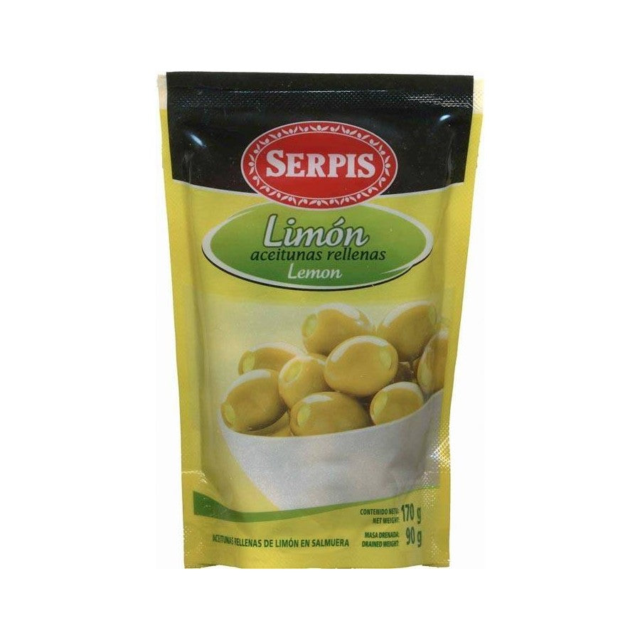 Serpis Lemon-Stuffed Manzanilla Olives