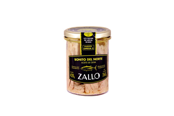 Zallo Premium Albacore Tuna Belly in Olive Oil 220g
