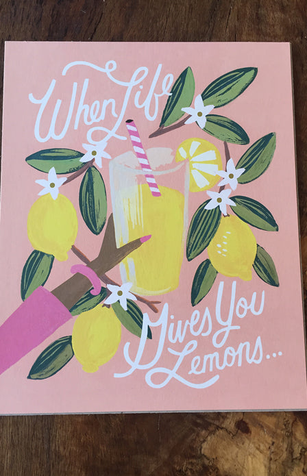 Rifle Paper Co - 8x10 Print Lemons