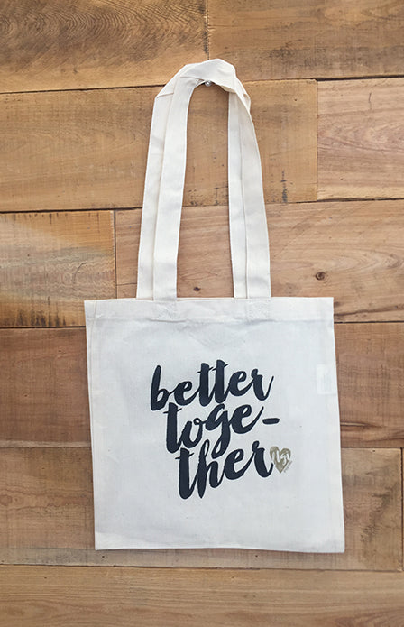 Better Together Canvas Tote