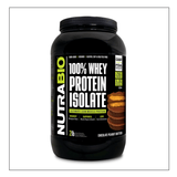Nutra Bio Whey Isolate Chocolate Peanut Butter