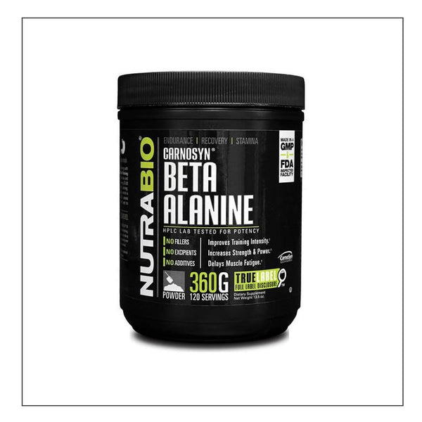 CoalitionNutrition,Nutra Bio - Beta Alanine (CarnoSyn) Powder - 360 g - CoalitionNutrition