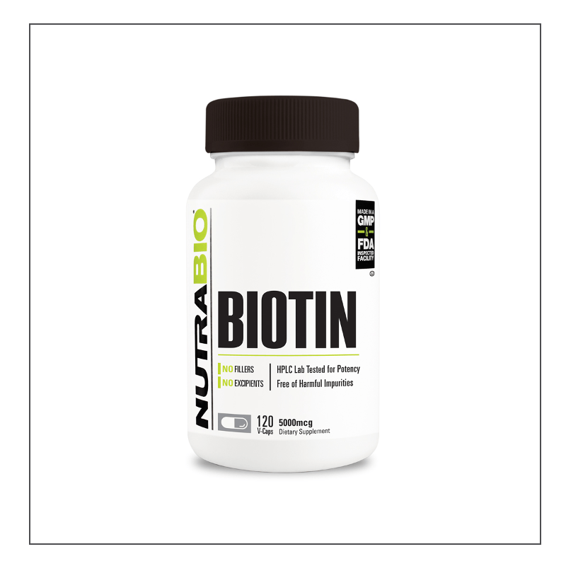CoalitionNutrition,Nutra Bio - Biotin - CoalitionNutrition