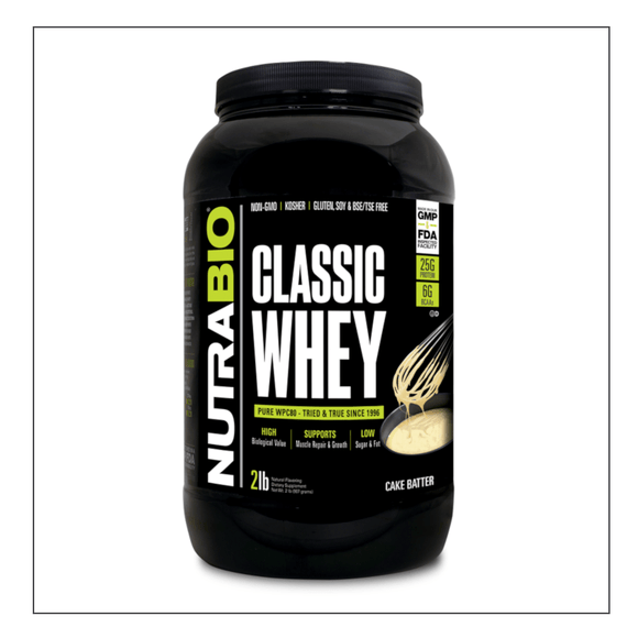 Nutra Bio Classic Whey 2lb Cake Batter